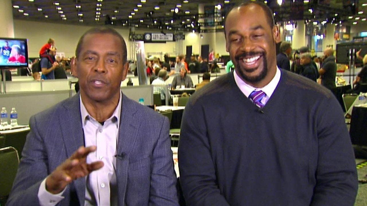 Tony Dorsett and Donovan McNabb go 'On the Record' to give their predictions for the big game between the Carolina Panthers and Denver Broncos