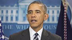 President Obama bashed Republicans in Congress Friday for the rut the economy is in. 