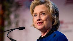 Democratic frontrunner Hillary Clinton was on the defense again Sunday for her Wall Street connections, insisting the millions she's received in campaign contributions and speaking fees have never influenced her political stances and suggesting she's being unfairly targeted.