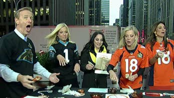 Fox News vs Fox Business in a spicy wing eating challenge