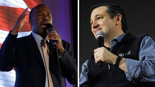 Carson slams Cruz over Iowa voicemail spreading 'false' drop-out rumor