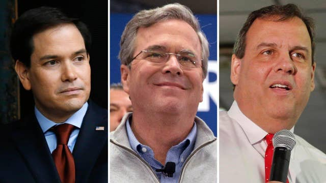 Bush, Christie camps deny teaming up to sink Rubio in NH