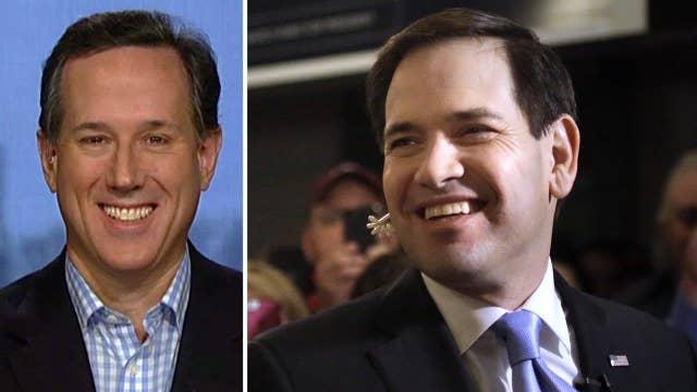 Santorum: Rubio has the 'right vision' for America