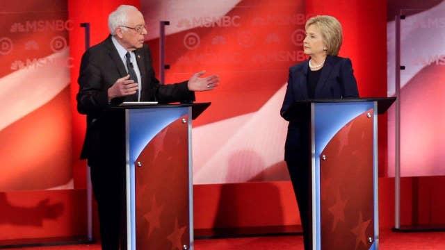 Democratic candidates trade attacks at NH debate