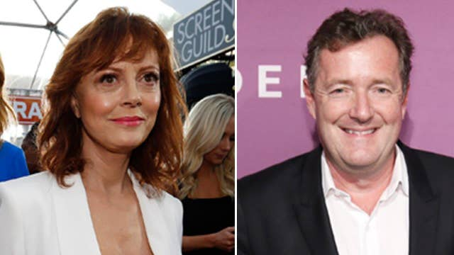 Sarandon tweets cleavage pic to Piers