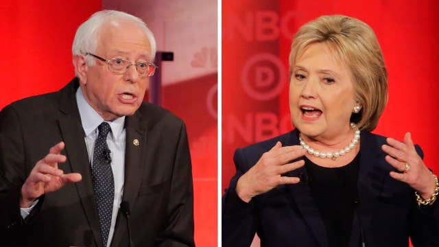 Bought and paid for? Clinton accuses Sanders of smears