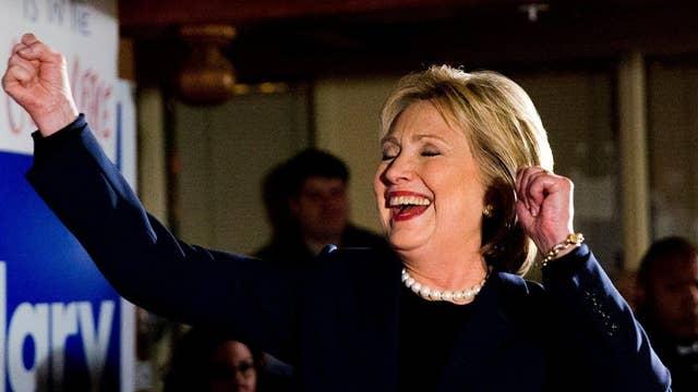 Clinton plays gender card in response to 'establishment' jab