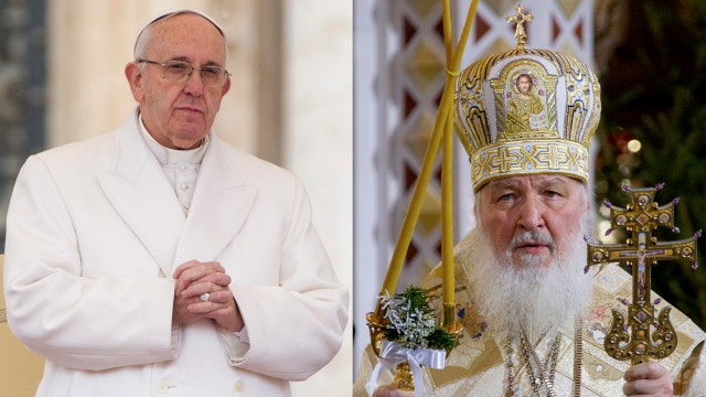 Pope Francis to meet with Russian Orthodox patriarch