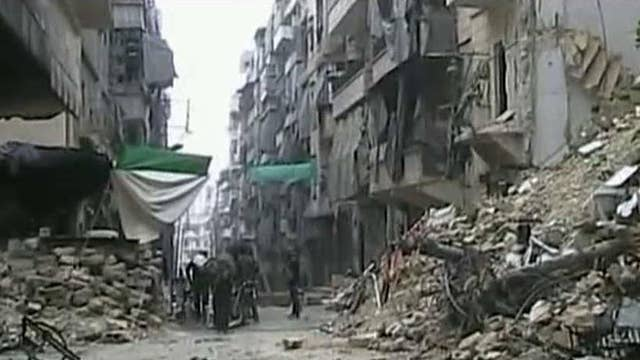 Russian airstrikes helping Syrian forces advance