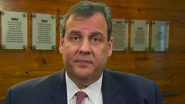 Chris Christie's campaign strategy