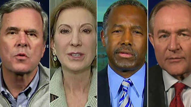 Final pitches before NH by Bush, Fiorina, Carson and Gilmore
