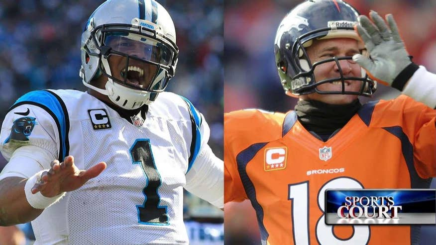Sports Court: Tamara Holder and Adam Housley talk Super Bowl 50, the young vs old rivalry with quarterbacks Cam Newton and Peyton Manning #SuperBowl50