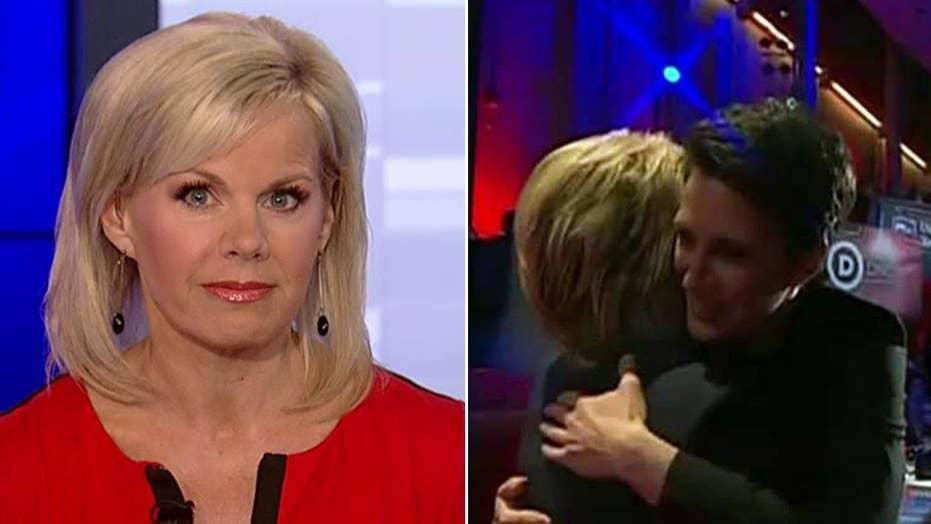Gretchen's Take: A debate moderator hugging candidates?
