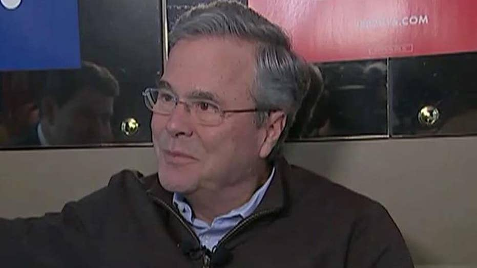 Jeb Bush ready for final push in New Hampshire