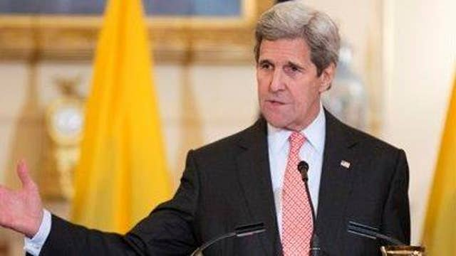 John Kerry shames Russia for bombing Syrian civilians