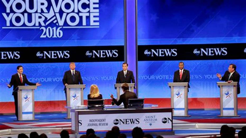 Presidential rivals target Marco Rubio at GOP debate