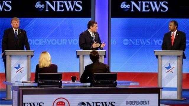 Which GOP candidate gained the most momentum from NH debate?