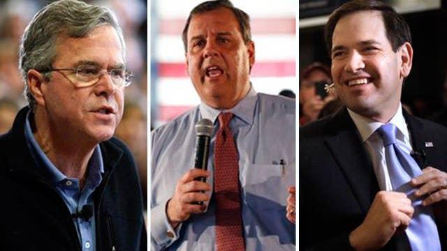 Christie and Bush work to stop Rubio's momentum