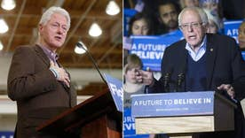 Bill Clinton ramps up attacks on Sanders as NH primary nears