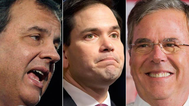 GOP rivals seize opportunity after Rubio debate stumble