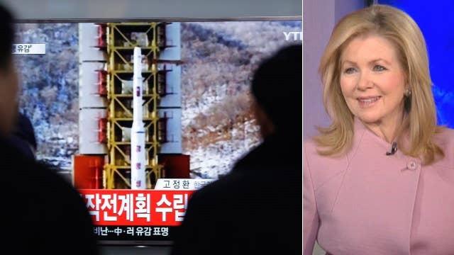 Rep. Marsha Blackburn reacts to North Korea rocket launch