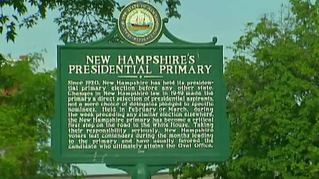 How New Hampshire became the nation's first primary state