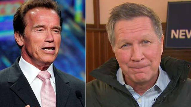 Arnold's advice to Kasich: Love the beatings, John
