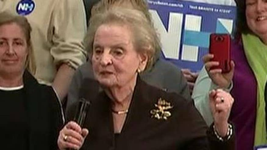 Albright: 'Special place in hell for women that don't help each other'