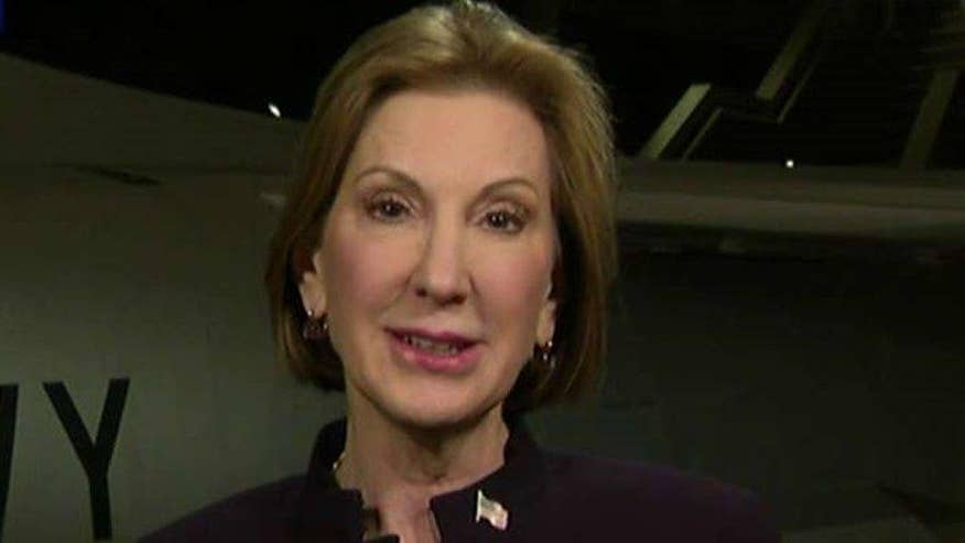 GOP presidential candidate Carly Fiorina goes 'On the Record' on the state of her campaign after being left off the NH debate stage, the feminist debate in the Democratic party and more