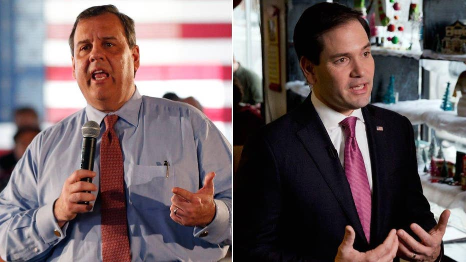 Christie relentlessly attacks Rubio ahead of NH primary