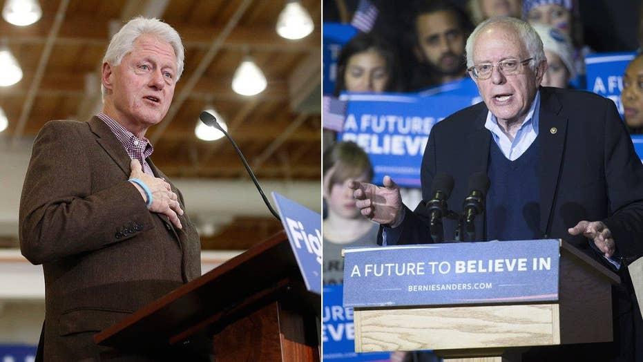 Bill Clinton takes on Bernie Sanders