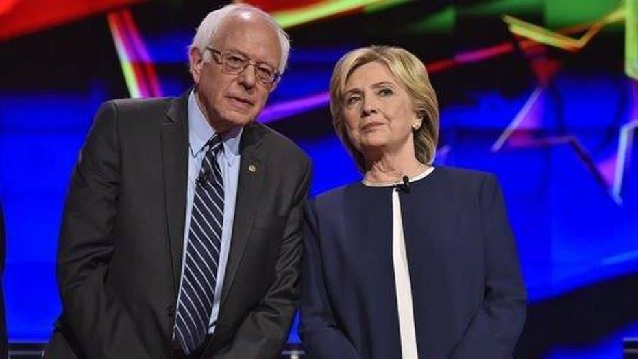 Bernie Sanders driving Clinton campaign off-message?