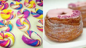 Chew on This: Chefs David Burke and Judy Joo weigh in on rainbow bagel craze; Best food Super Bowl ads; Chef tricks LA foodies into eating McDonalds
