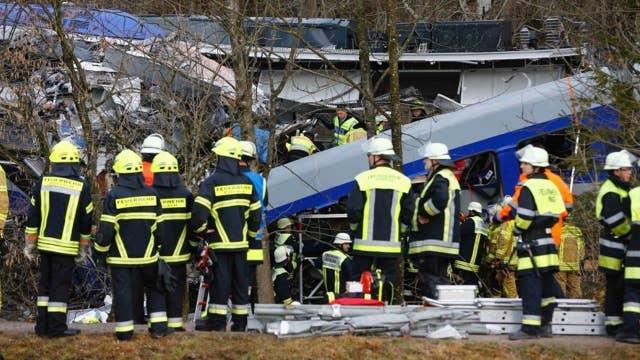Train crash in Germany kills at least 8, 150 injured