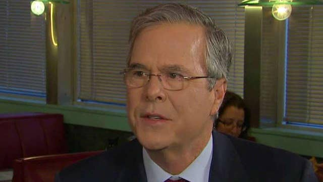Jeb Bush on how he thinks he will fare in New Hampshire