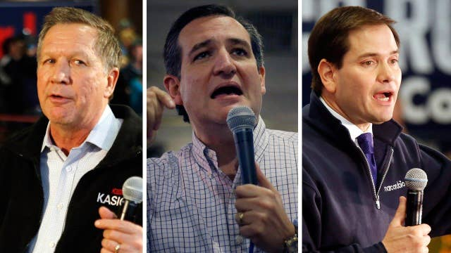 Which GOP candidate has the most to gain in New Hampshire?