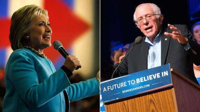 Is Clinton-Sanders race actually close?