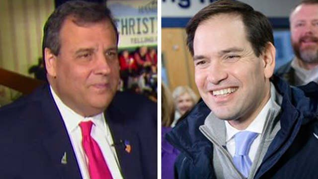 Christie: No one is sold on Senator Rubio anymore