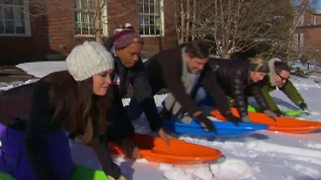 'The Five' holds sled race to predict winner of NH primary