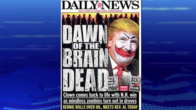 Vicious attacks against Donald Trump