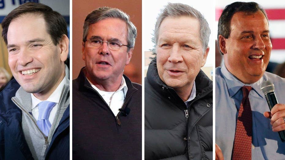 Race for second place heats up in New Hampshire
