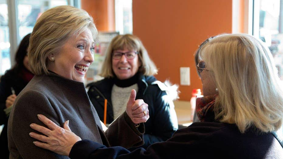 Clinton camp plays expectations game in New Hampshire