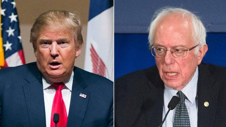Fox News projects Trump, Sanders win New Hampshire primaries