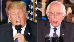 Trump, Sanders win by huge margins in the Granite State