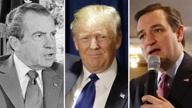 Trump and Cruz being compared to President Nixon