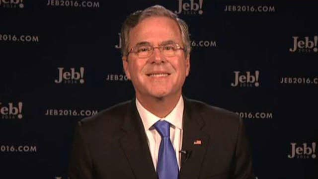 Jeb Bush reflects on his finish in New Hampshire