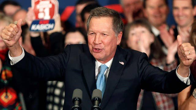How did candidates fare in the New Hampshire primary?
