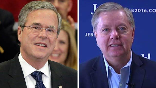 Sen. Graham: Jeb Bush's campaign is 'alive and well'