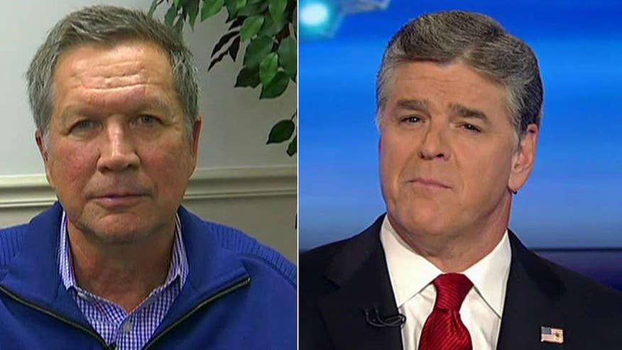 GOP candidate reacts to N.H. results on 'Hannity'