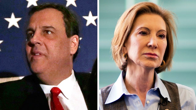 GOP race narrows as Christie and Fiorina drop out